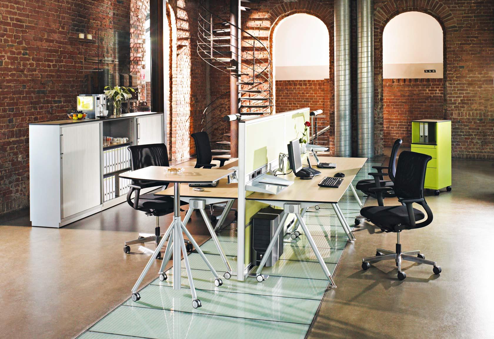 Flexibler Design-Arbeitsplatz