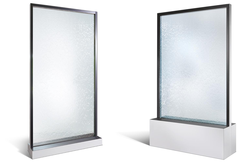 Wasserwände für eine optimale Luftfeuchtigkeit