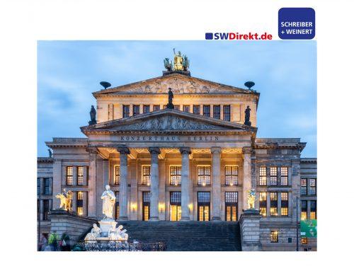 SCHREIBER + WEINERT GmbH beliefert das Konzerthaus Berlin