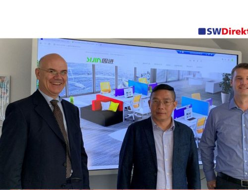 Cooperation talks with Sijin Furniture Co., Ltd. located in Guangdong, China