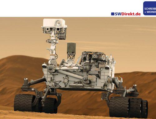 SCHREIBER + WEINERT startete zum Mars