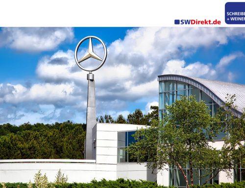 SCHREIBER+WEINERT beliefert Mercedes Benz AG